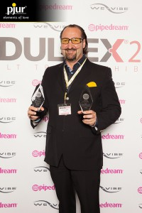 Alexander Giebel with ADULTEX Awards