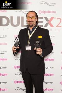 Alexander Giebel with ADULTEX Awards