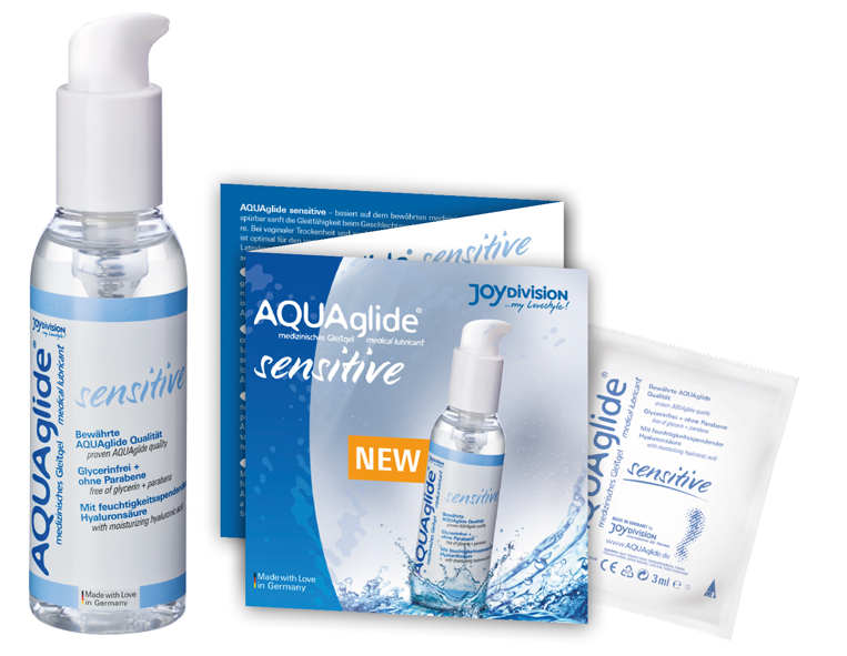 AQUAglide_sensitive_Probenflyer