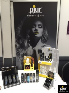 pjur Displays and Products at ARExpo