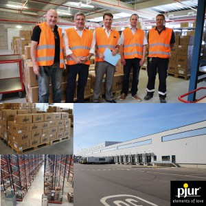 New warehouse of the pjur group
