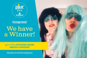 pjur SPA Cooling Mask Photo Contest