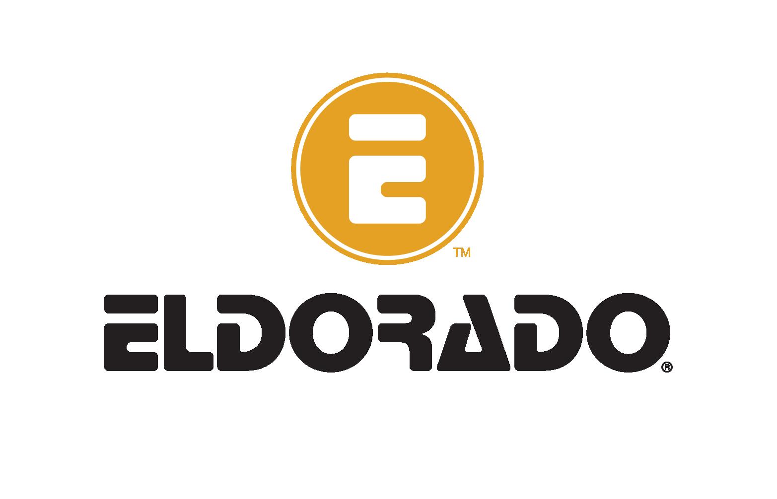 Eldorado Logo_stacked_GoldBlackCYMK