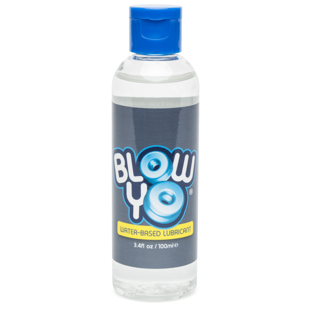 BlowYo Water-Based Lubricant 3.4 fl oz