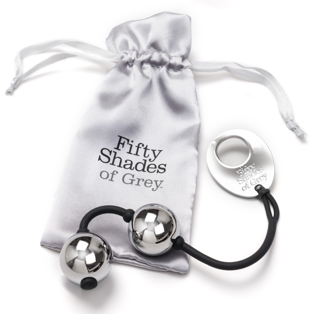 Fifty Shades of Grey Inner Goddess Silver Pleasure Balls 221g Silver