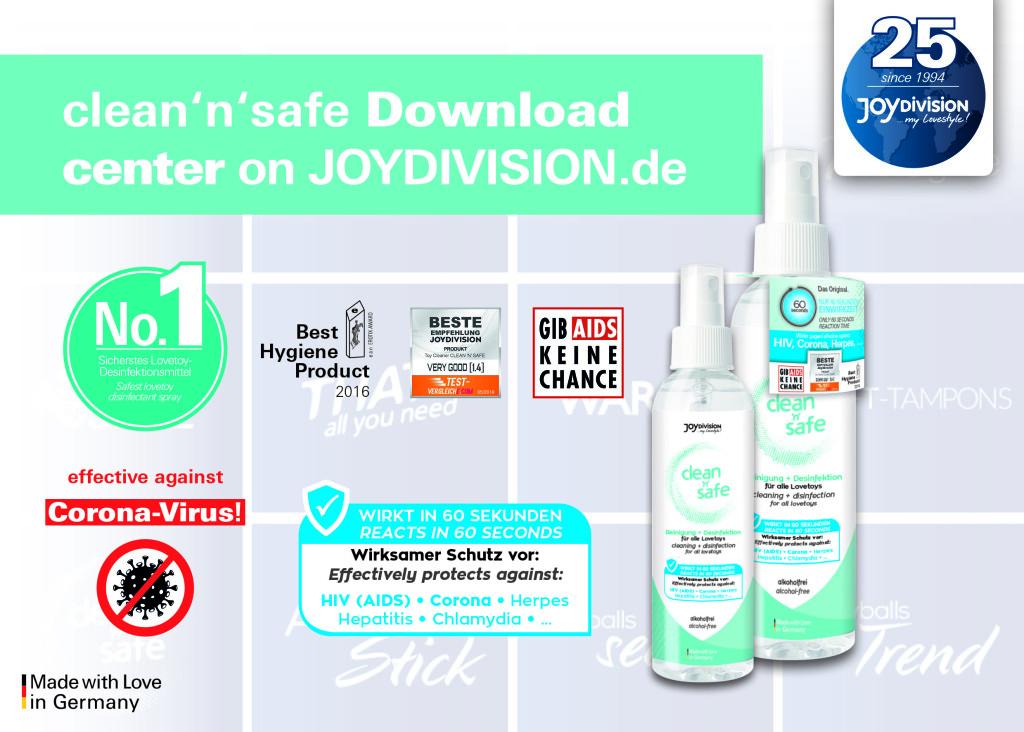clean'n'safe_Downloadbereich_EN