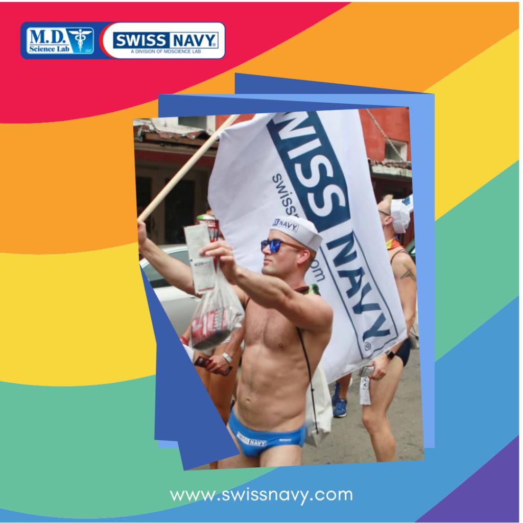 Swiss Navy Celebrates Pride Month pic
